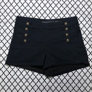 Hot Topic (LOVEsick) High Waisted Black Shorts <3